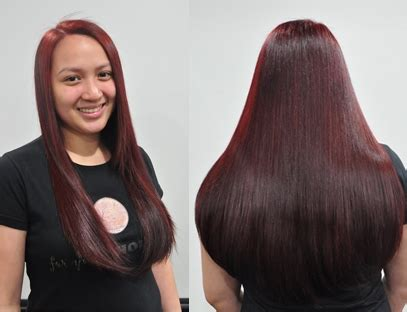 best hair color salon in philippin es a makeover by cynos philippines mom on duty