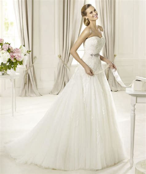 Brautkleid Pronovias by S Fashion 2013 Wedding Dresses From