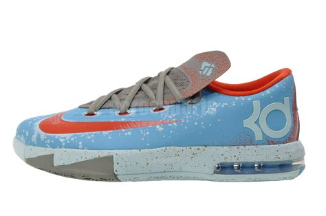 youth kevin durant basketball shoes nike kd vi gs kevin durant youth maryland blue crab