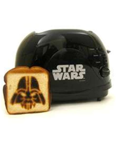 star wars kitchen appliances the darth vader toaster
