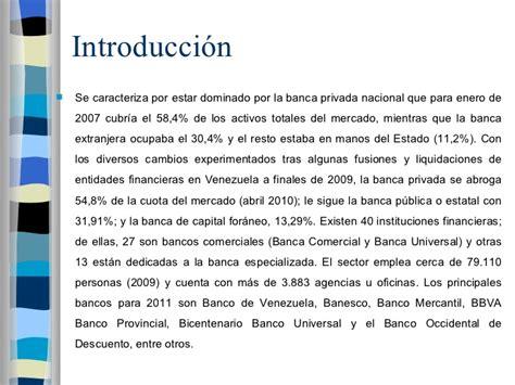 bancos de venezuela bancos en venezuela
