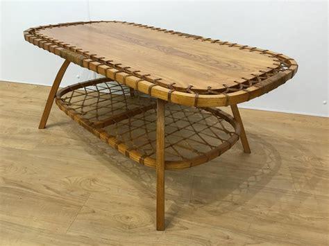 Rectangular Adirondack Style Coffee Table For Sale At 1stdibs Adirondack Coffee Table