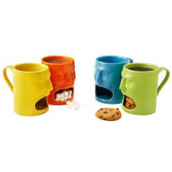 cool coffee cups warm or cool face mugs set of 2 cookie mug funny