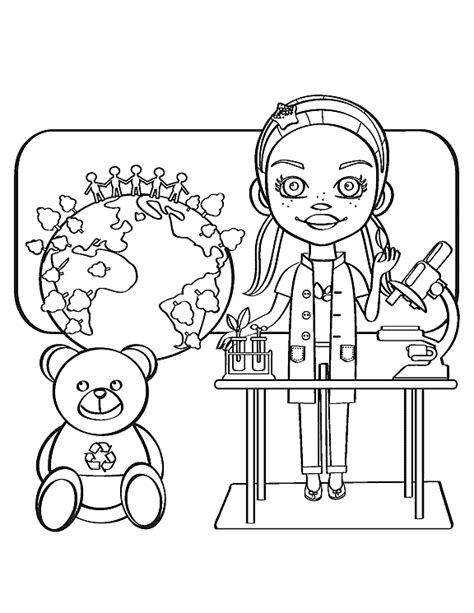 coloring book for scientists scientists environment health national