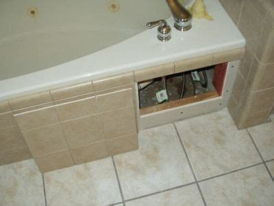 bathtub access panel tub decks and access panels ceramic tile advice forums
