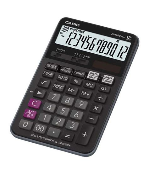casio jj 120d plus desktop calculator buy at best