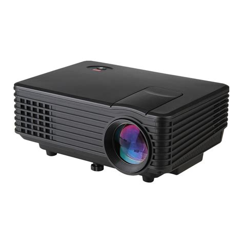 Projector Rd 805 original excelvan rd 805 mini led projector hdmi home theater beamer multimedia portable