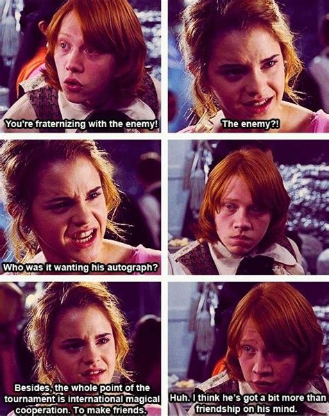 Hermione Meme - hermione and ron