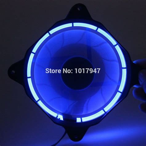 Alseye Fan Casing 12 Cm Eclipse Blue New 5 pcs lot eclipse blue led dc 12v 12cm 120mm 120x25mm 3pin 4pin pc cpu cooling cooler fan