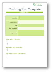exercise session plan template plan template word images frompo