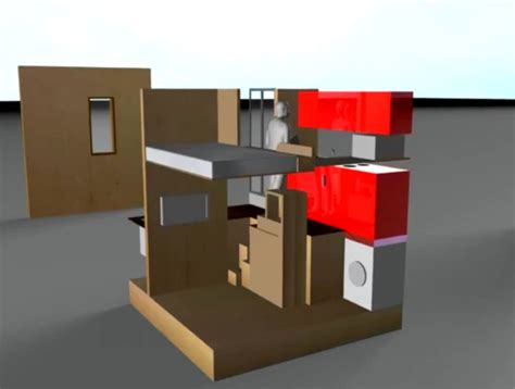 cube design house london s 3 meter micro cube house produces more energy than it consumes cube house
