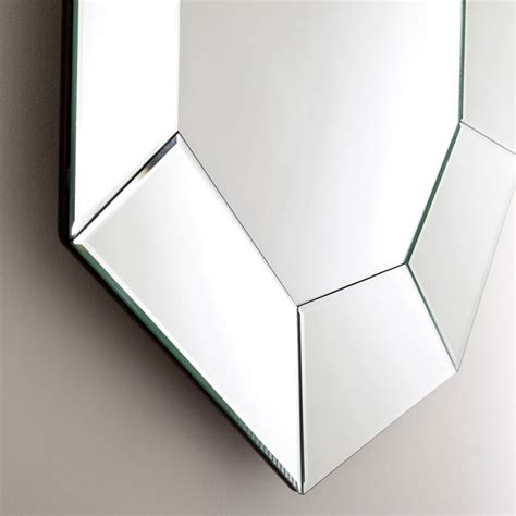 octagon bathroom mirror bevelled octagonal mirror by decorative mirrors online