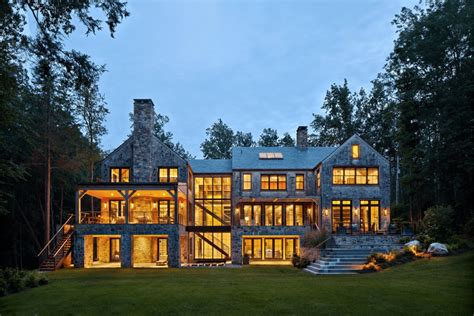 custom home builder magazine modern lake house in new york custom home builder magazine