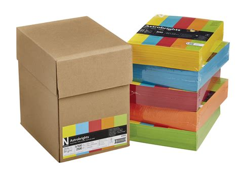 general office supplies colored copy paper printer