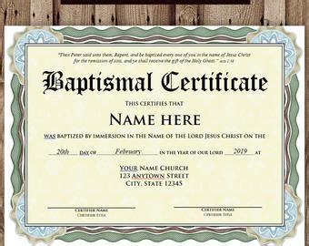 free editable baptism certificate template editable baptism certificate template pdf adobe reader