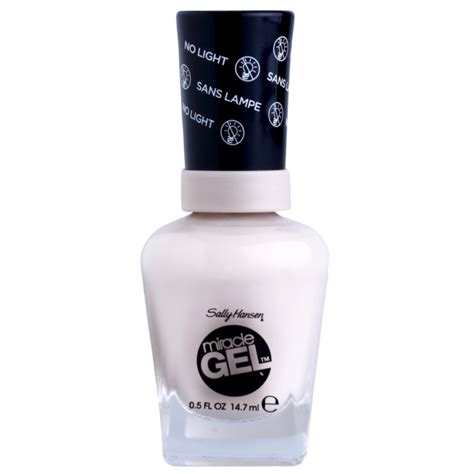 sally hansen led l sally hansen miracle gel vernis 224 ongles gel sans le