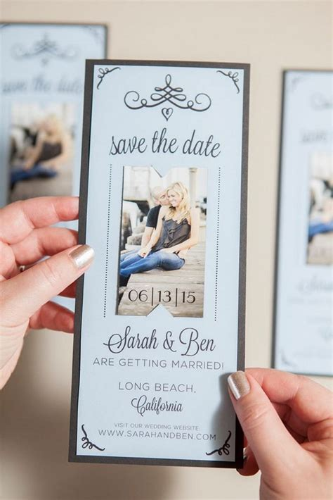 diy save the date card for magnets template 20 and creative save the date ideas noted list