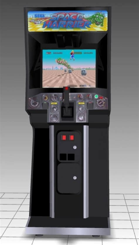 Upright Armchair Space Harrier Upright Arcade Machine Downloadfree3d Com