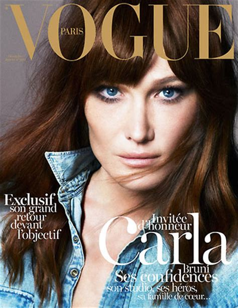 Jaket Gazr carla bruni graces the december january 2012 2013 cover of
