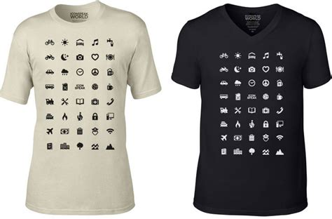 Kaos Panda All You Need Is ingenious shirt uses recognizable icons to help
