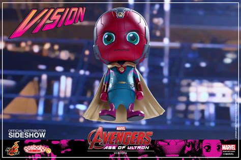 Toys Cosbaby Vision Civil War Ori marvel vision vinyl collectible by toys sideshow
