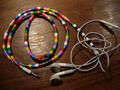 Decorated Earbuds by Make On Your Earpiece 183 How To Decorate Headphones