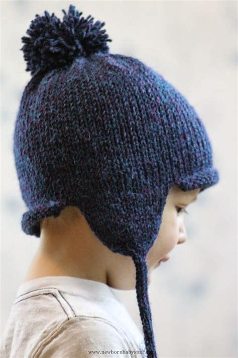 knitting pattern earflap hats for toddlers baby knitting patterns balls to the walls knits all in