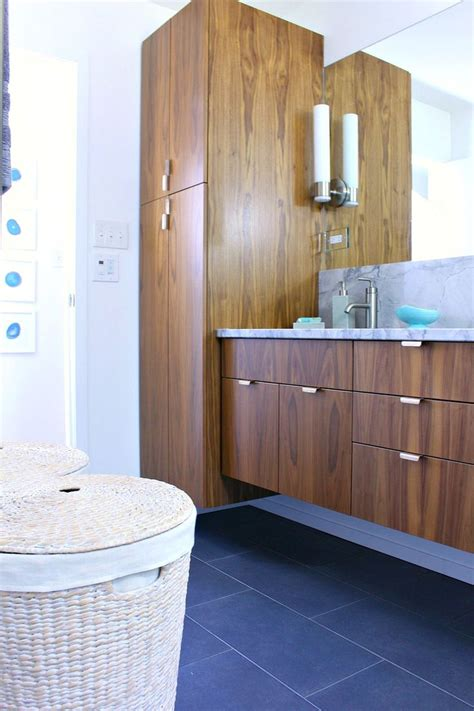 Mid Century Modern Bathroom Accessories Best 25 Floating Bathroom Vanities Ideas On