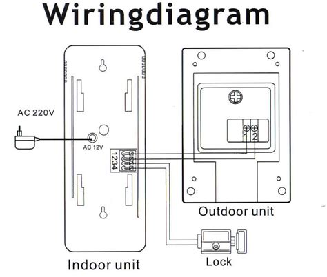 kit1fapt 2 wire door phone entry system non expandable
