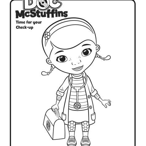 Doc Mcstuffins Coloring Pages To Print Coloring Home Doc Mcstuffins Coloring Pages To Print