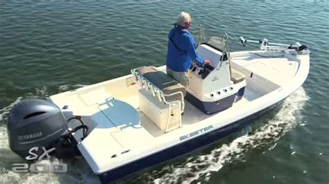 skeeter boat center skeeter boats sx200 center console saltwater fishing bay