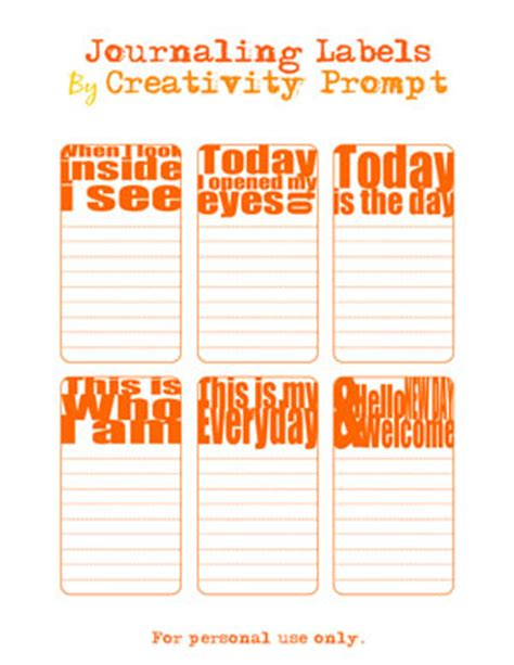 free printable journaling tags friday freebie dear diary journaling tags creativity