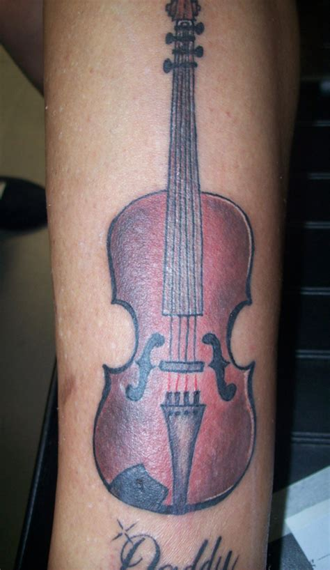 violin tattoo gallery top violin and grim images for pinterest tattoos