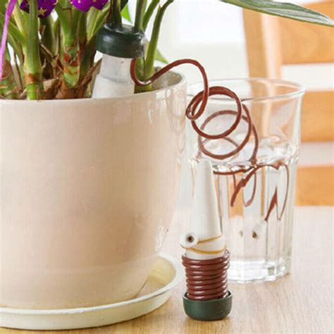 mini home  flower pot plant automatic watering