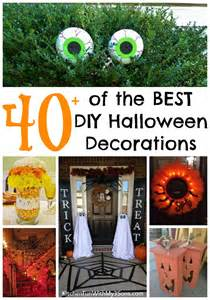 Home Made Halloween Decoration by 40 Homemade Halloween Decorations Kitchen Fun With My