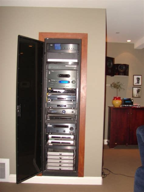 Home Audio Rack by 6 Middle Atlantic Rack Packed With Whole House Audio