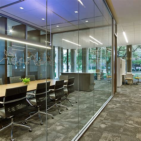 frameless glass wall quot enclose frameless glass quot walls by haworth moveable