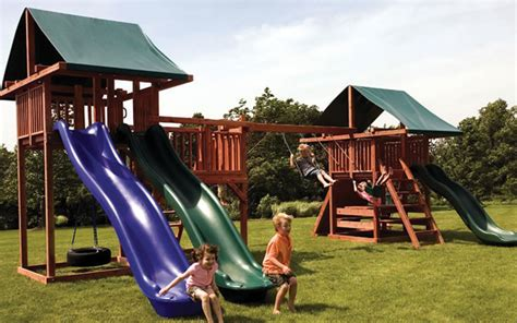 best ways playground sets promote active lifestyles in