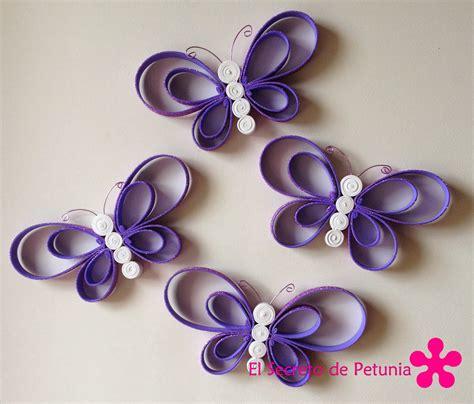 imagenes mariposas goma eva mariposas de goma eva el secreto de petunia