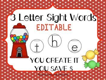 5 Letter Words Made From Iguana 1000 images about kindergarten sight words hfws on