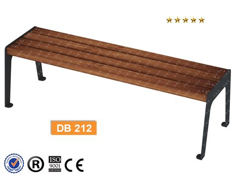 bench can db 212 sitting benches outdoor trash can park bench
