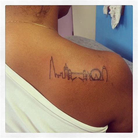london skyline tattoo skyline search lifestyle