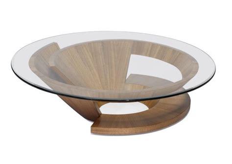 coffee table glass circle coffee table metal base