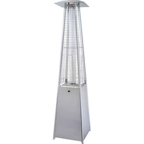 stainless steel pyramid patio heater pyramid stainless steel patio heater