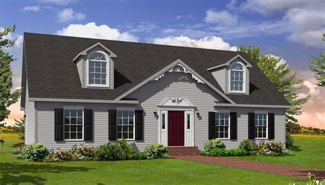 Cape Style Homes | huntington i cape style modular homes