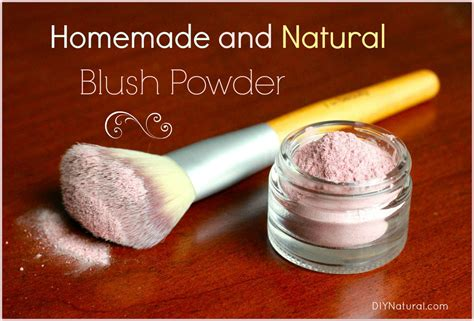 Handmade Cosmetics Recipes - cosmetics recipe for blush powder