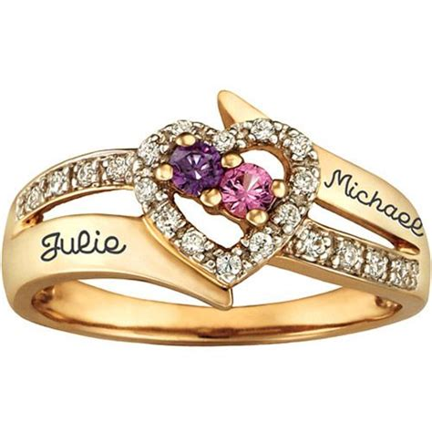 pin by mood rings on promise ring walmart