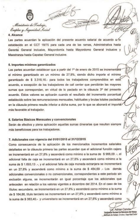 paritaria bancarios 2016 acuerdo salarial aumento del 32 paritarias comercio cordoba 2015 autos post