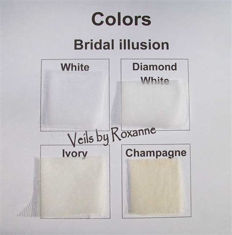 difference between chagne and ivory wedding dress