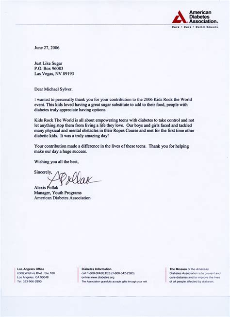 Business Letter Of The Letter sle business letter in exle business